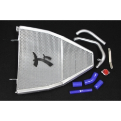 Radiateur d'eau grand format Taleo Tecnoracing GSXR600/750 11-15