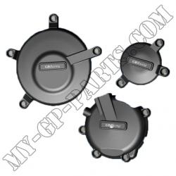 Kit de 3 protections de carter GB Racing GSXR600/750 K6-L3