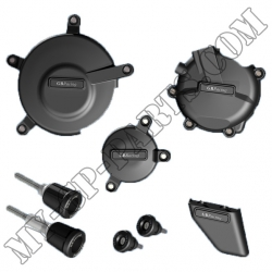 Kit de 6 protections de carter GB Racing GSXR 600/750 K6-L3