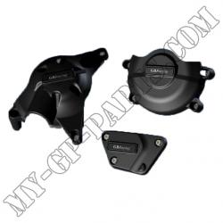 Kit de trois protections de carter GB Racing R6 06-11