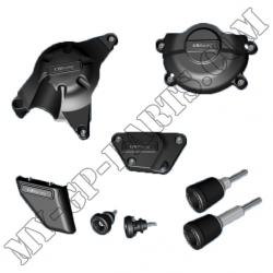 Kit de six protections GB Racing R6 06-11