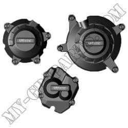 Kit de trois protections de carter GB Racing ZX10R 2011