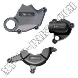 Kit de 3 protections de carter GB Racing DUCATI 1098 1198