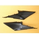 Paire de carénages de réservoir carbone TYGA PERFORMANCE CBR600RR 03-04