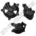 Kit de 3 protections de carter GB Racing ZX10R 08-10