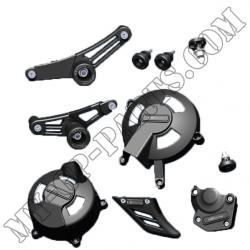 Kit de 7 protections GB Racing Daytona 675 / STREET TRIPLE 06-12