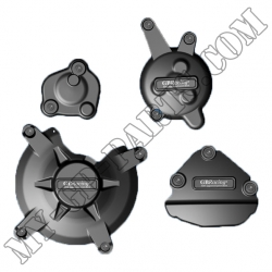 Kit de 4 protections de carter GB Racing FZ1 09-10 / FZ8 10-11