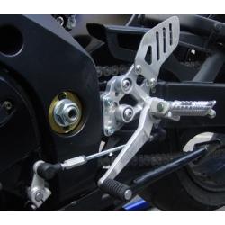 Rehausseur de platine repose pied d'origine EURO RACING LIGHT GSXR1000, 2005-2006