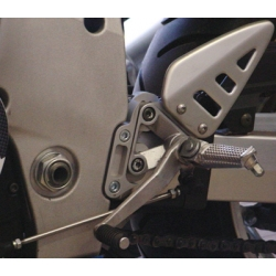 Rehausseur de platine repose pied d'origine à déport EURO RACING EVO GSXR600, 1997-2000