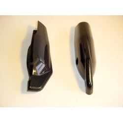 Paire de protection de fourche Carbone Tamburini Ducati Hypermotard