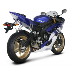 Silencieux adaptable SLIP-ON Akrapovic pour YAMAHA YZF R6 (2010-2012)