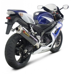 Silencieux adaptable SLIP-ON Akrapovic pour SUZUKI GSX R 1000 (2005-2006)