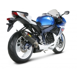 Silencieux adaptable SLIP-ON Akrapovic pour SUZUKI GSX R 600 (2011-2012)