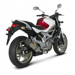 Silencieux adaptable SLIP-ON Akrapovic SUZUKI SVF 650 GLADIUS (2009-2012)