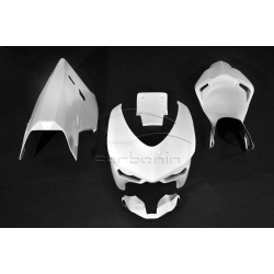 Carénage complet polyester CARBONIN DUCATI 848 1098 1198