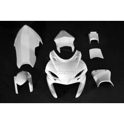 Carénage complet polyester CARBONIN SUZUKI GSXR 600/750 2011-