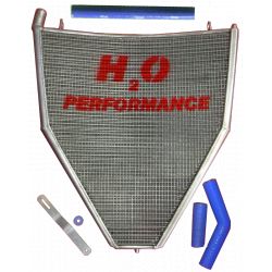 Radiateur d'eau grande capacité H2O performance Honda CBR1000 RR 06/07