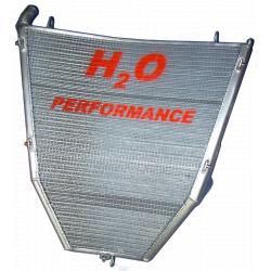 Radiateur d'eau grande capacité H2O performance Honda CBR1000 RR 04/05