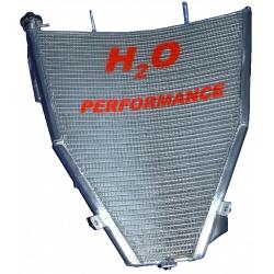 Radiateur d'eau grande capacité H2O performance Suzuki GSXR600 K4-K5