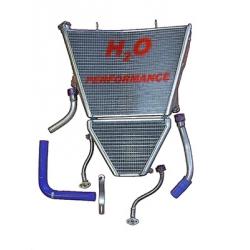 Radiateur d'eau et d'huile grande capacité H2O performance Suzuki GSXR1000 K9-L6