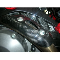 Protection echappement Carbone Ducati Monster 696 / 796 / 1100