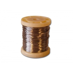 Bobine de fil à freiner inox 0,8 mm X 30 mètres