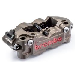 Paire d'étriers de frein radiaux taillés masse assemblés HPK BREMBO P4 32/36 108mm