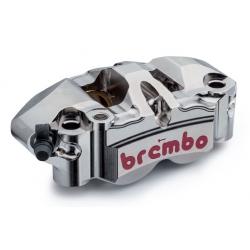 Paire d'étriers de frein radiaux taillés masse monobloc BREMBO GP4 34/38 108mm