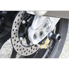 Diabolos supports béquille 6 mm GSG MOTO RSV4 Factory, RSV4R APRC 2009-2014 plastique noir