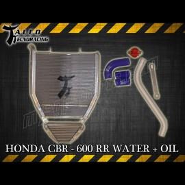 Radiateur d'eau et d'huile Taleo Tecnoracing CBR600RR 07-15