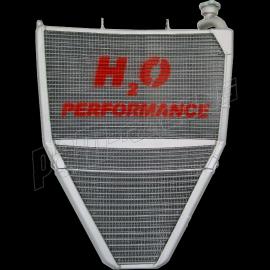Radiateur d'eau et d'huile grande capacité H2O performance Triumph Daytona 675 13-15