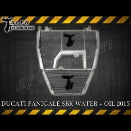 Radiateur d'eau et d'huile Taleo Tecnoracing Ducati 1199 Panigale