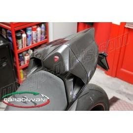 Coque arrière monoplace carbone Ducati 899 Panigale