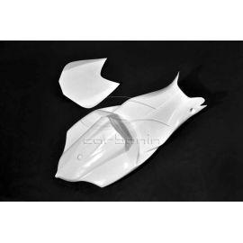 Coque arrière racing fibre de verre CARBONIN SUZUKI GSXR 600/750 2008-2010