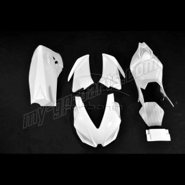 Carénage complet racing polyester CARBONIN RSV4 Factory 2009-2014