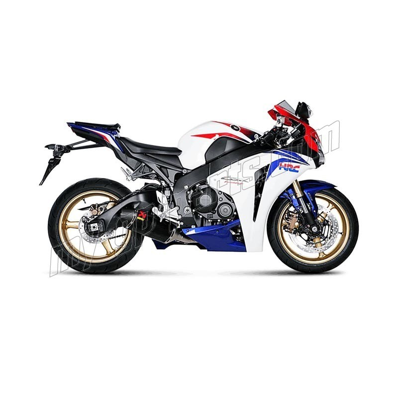 ligne compl te d 39 chappement racing akrapovic cbr1000rr 2012 2016 my gp parts. Black Bedroom Furniture Sets. Home Design Ideas