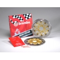 Pack 2 disques de frein racing HPK Supersport 320 mm GSXR 600, 750, 1000 BREMBO