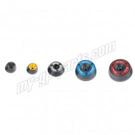 Kit de protection d'axe de roue avant et arrière LIGHTECH ZX6R 07-16, ZX10R 11-17
