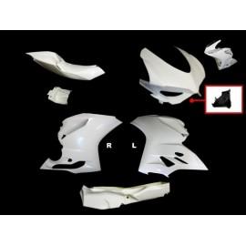 Carénage complet 5 parties fibre de verre 1199 MOTOFORZA