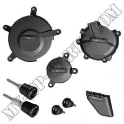 Kit de 6 protections de carter GB Racing GSXR 600/750 K6-K9