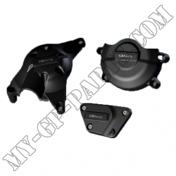 Kit de trois protections de carter GB Racing R6 06-11