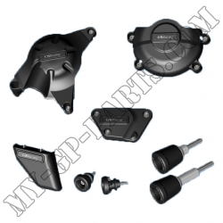 Kit de six protections GB Racing R6 06-11