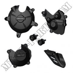 Kit de cinq protections GB Racing ZX6R 07-12