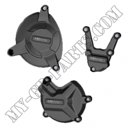 Kit de 3 protections de carter GB Racing BMW S1000R 09-11