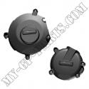 Kit de 2 protections de carter GB Racing GSXR1000 K5-K8 / GSR 750 12-