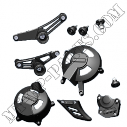 Kit de 7 protections GB Racing Daytona 675 / STREET TRIPLE 06-12