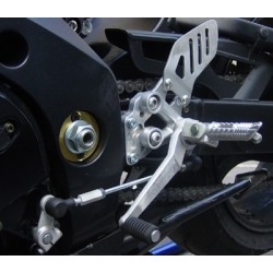 Rehausseur de platine repose pied d'origine EURO RACING LIGHT GSXR1000, 2005-2006