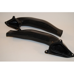 Entrée d'air carbone type origine Tamburini Ducati 848 1098 1198