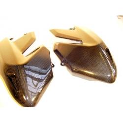 Carénages latéraux de réservoir carbone Tamburini Ducati Hypermotard