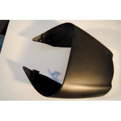 Dosseret de selle passage carbone Tamburini Ducati Diavel